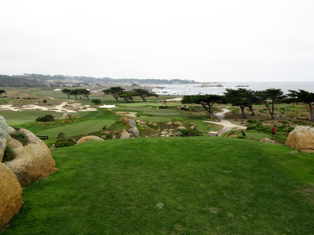 11th Hole at Monterey Peninsula CC (Shore) (181 Yard Par 3)