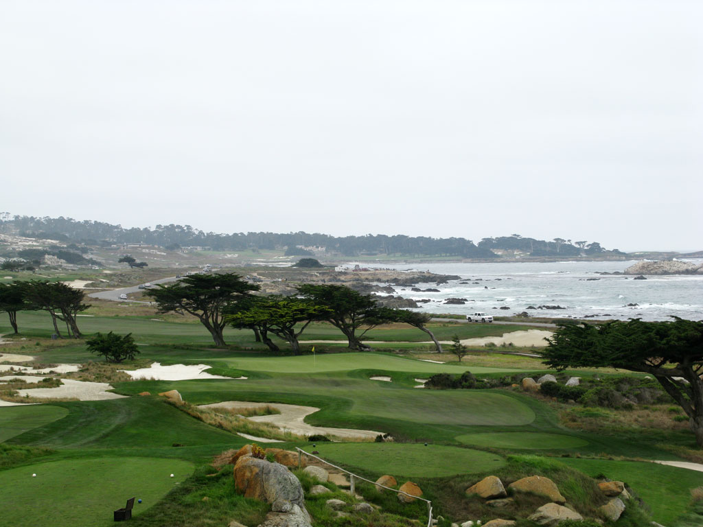 11th Hole at Monterey Peninsula CC (Shore) (181 Yard Par 3)