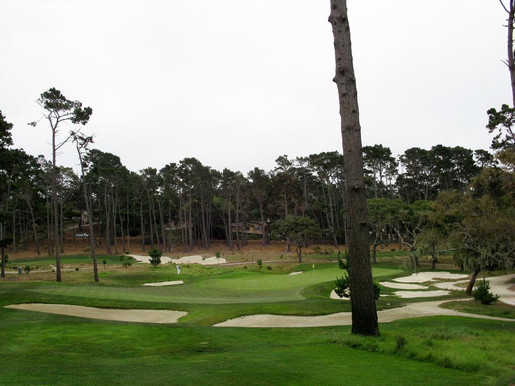 3rd Hole at Monterey Peninsula CC (Shore) (155 Yard Par 3)