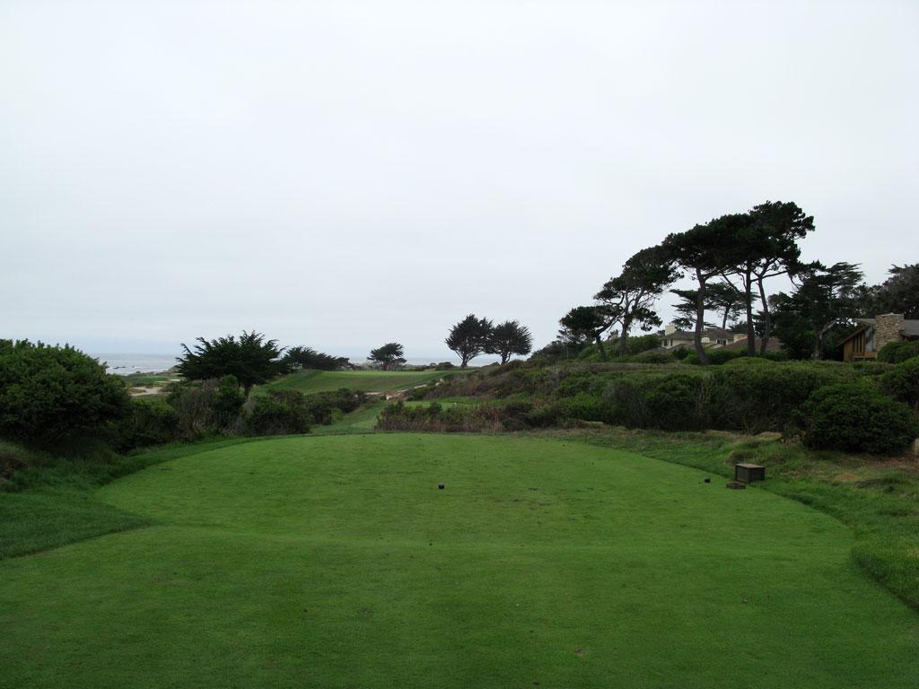 7th Hole at Monterey Peninsula CC (Shore) (226 Yard Par 3)
