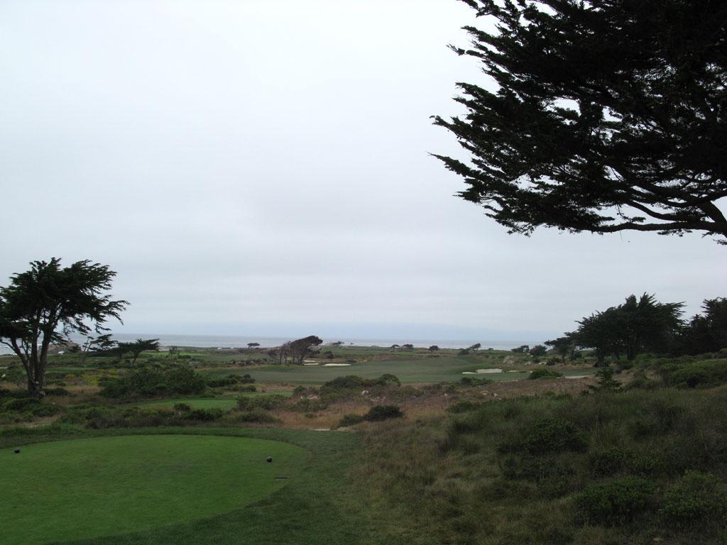 8th Hole at Monterey Peninsula CC (Shore) (454 Yard Par 4)