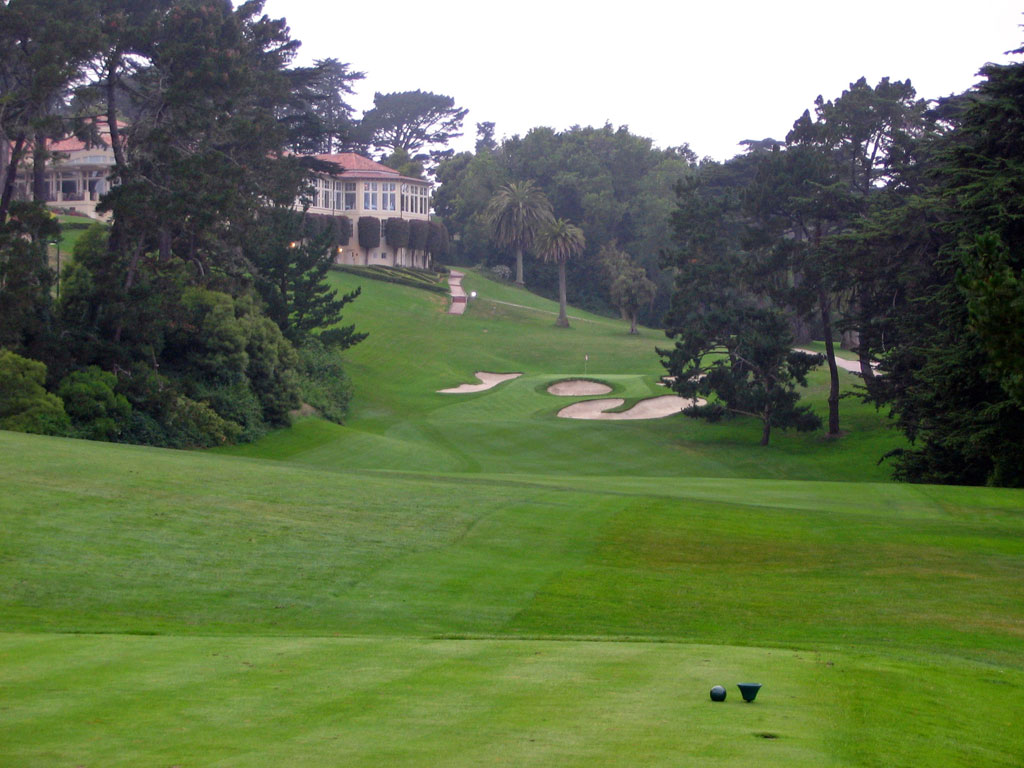 18th Hole at Olympic Club (Lake) (347 Yard Par 4)