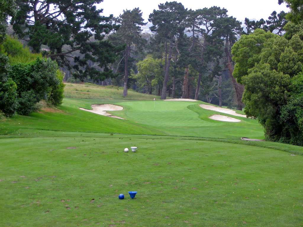 3rd Hole at Olympic Club (Lake) (223 Yard Par 3)