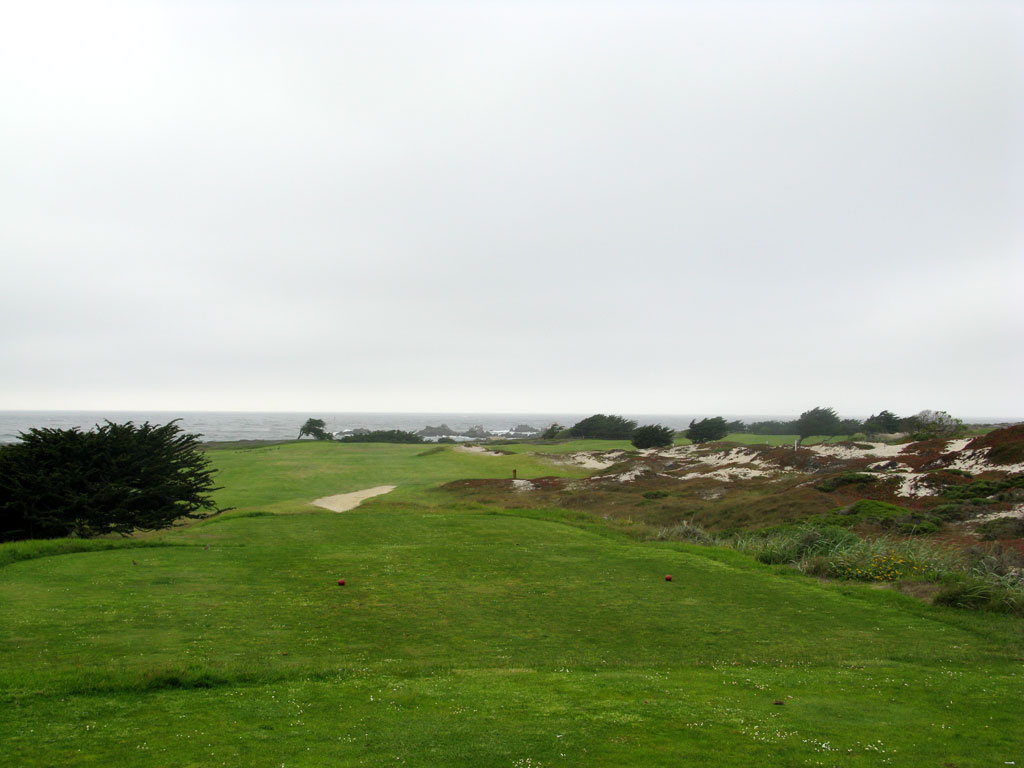 12th Hole at Pacific Grove Golf Links (513 Yard Par 5)
