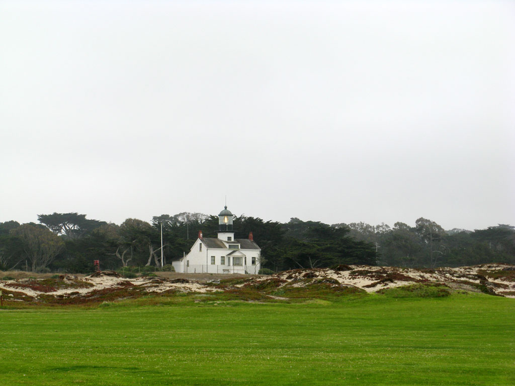 16th Hole at Pacific Grove Golf Course (355 Yard Par 4)