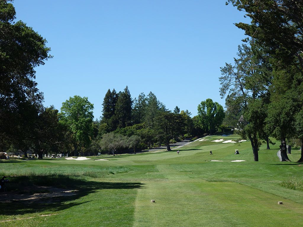 9th Hole at Pasatiempo Golf Club (500 Yard Par 5)