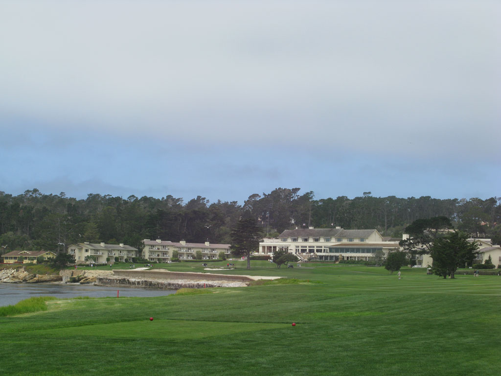 18th Hole at Pebble Beach Golf Links (543 Yard Par 5)