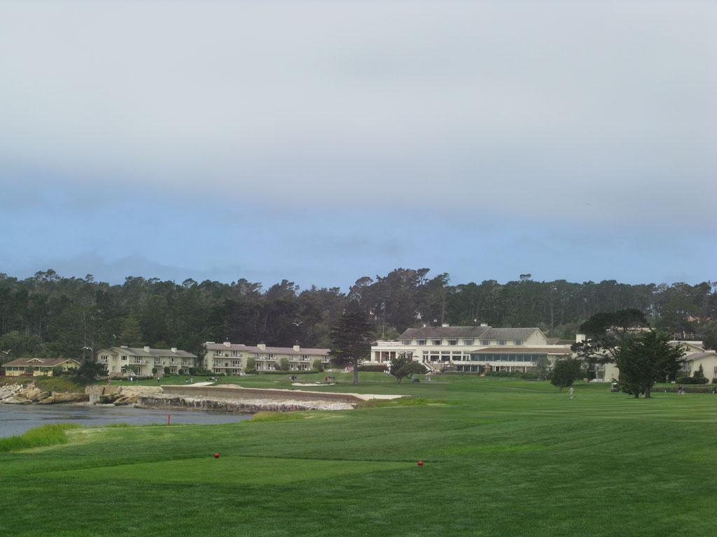 18th Hole at Pebble Beach Golf Links (543 Yard Par 5)