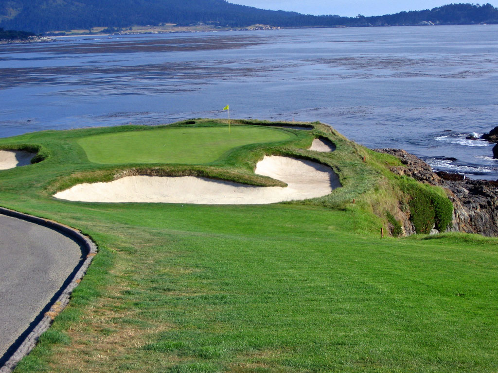 Pebble Beach 7th Path