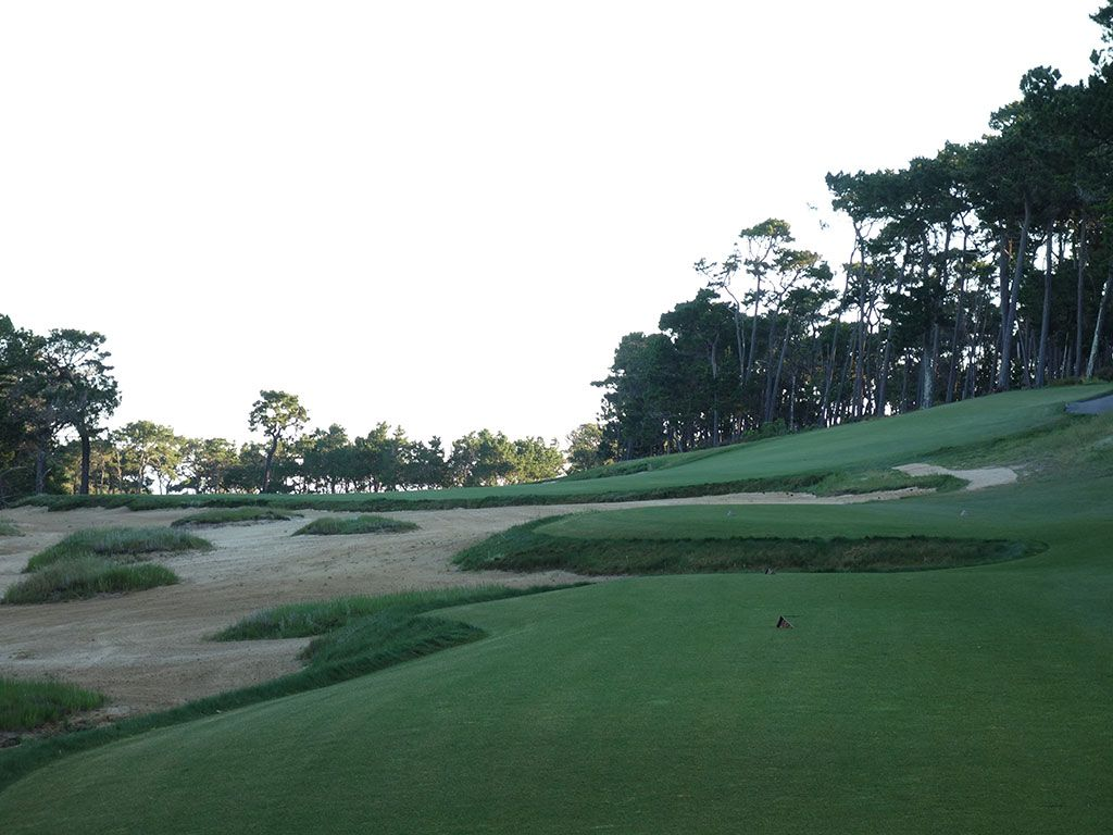1st Hole at Poppy Hills Golf Course (514 Yard Par 5)