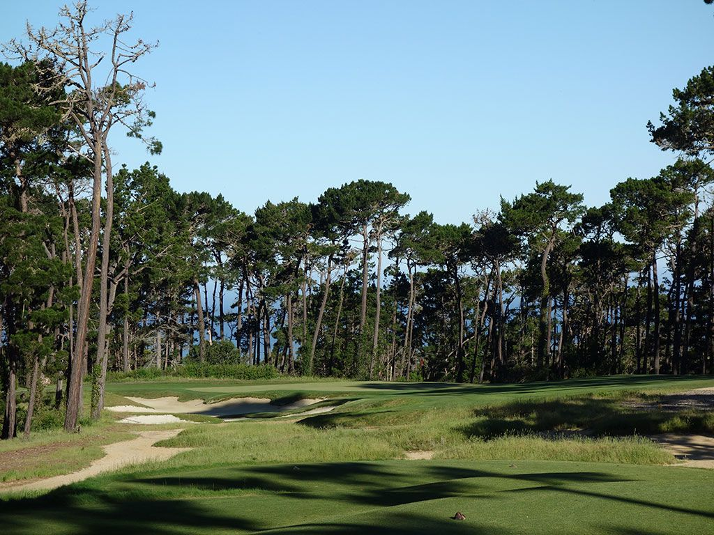 6th Hole at Poppy Hills Golf Course (200 Yard Par 3)