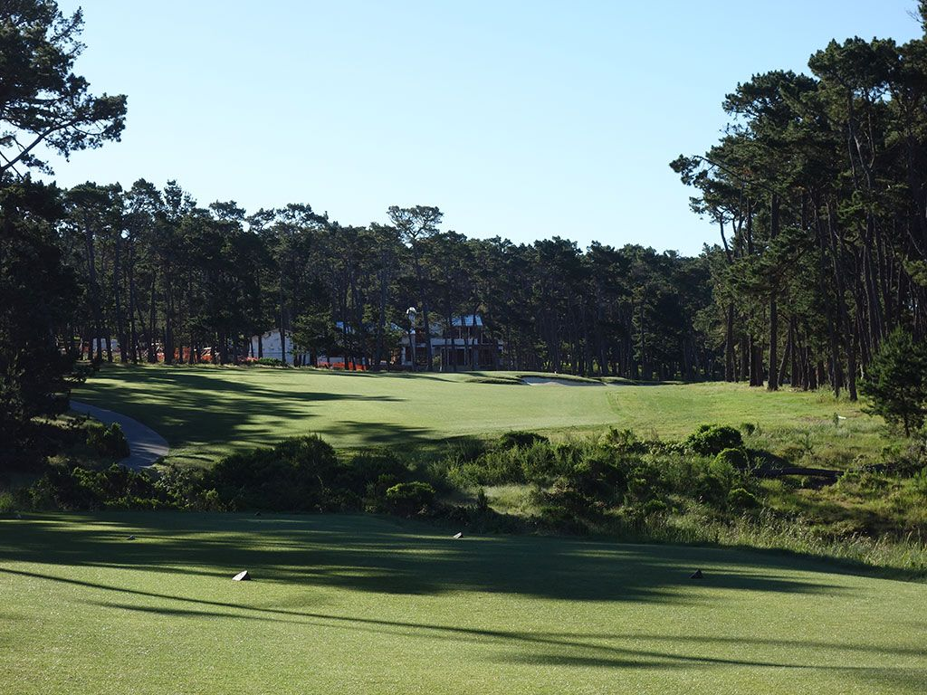 7th Hole at Poppy Hills Golf Course (430 Yard Par 4)