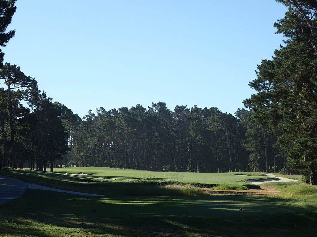 9th Hole at Poppy Hills Golf Course (503 Yard Par 5)