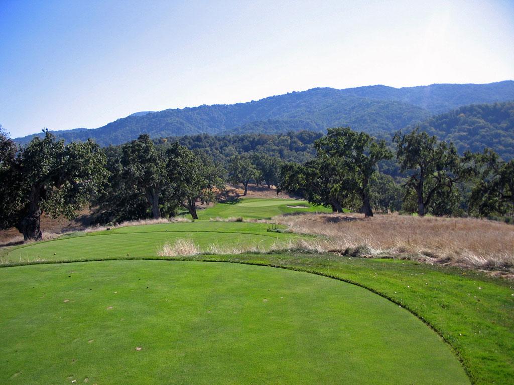 6th Hole at Preserve Golf Club (209 Yard Par 3)