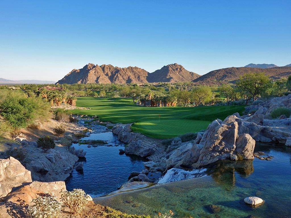 10th Hole at The Quarry at La Quinta (521 Yard Par 5)