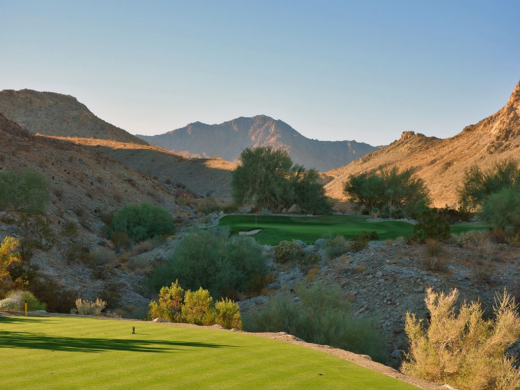 14th Hole at The Quarry at La Quinta (173 Yard Par 3)