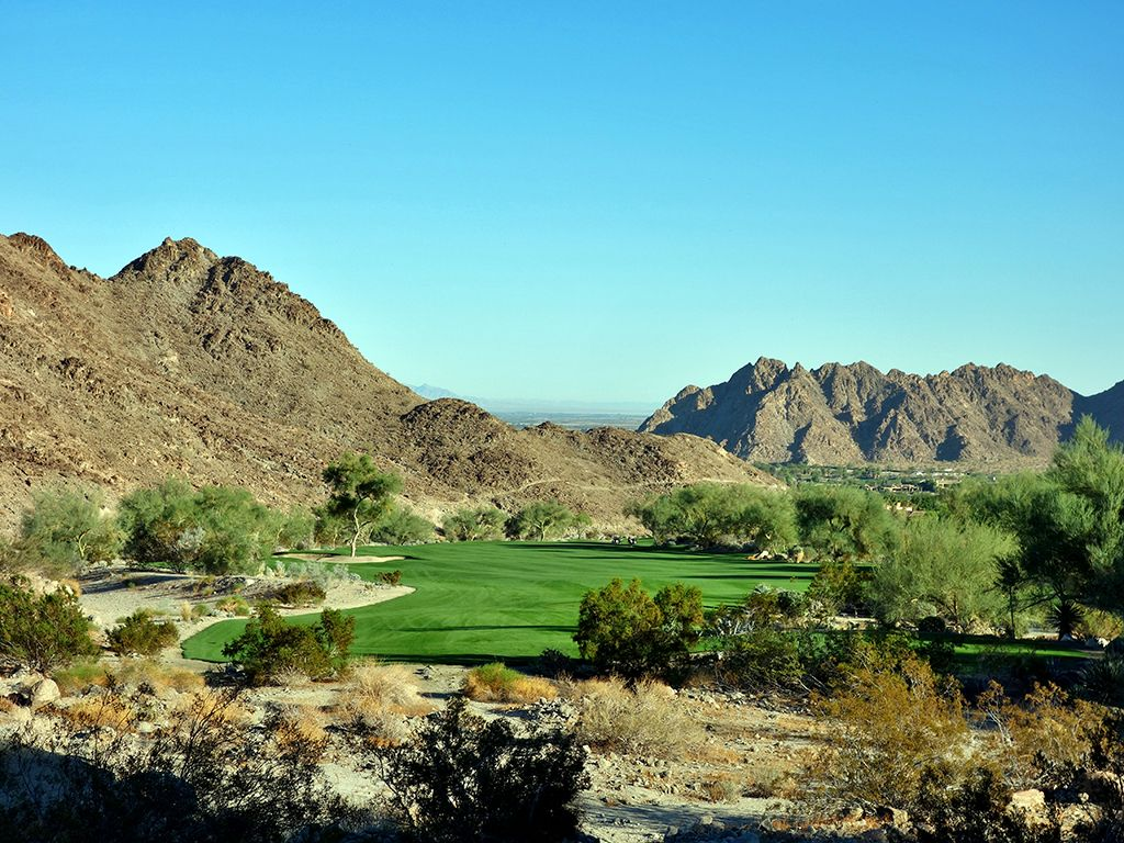 15th Hole at The Quarry at La Quinta (614 Yard Par 4)