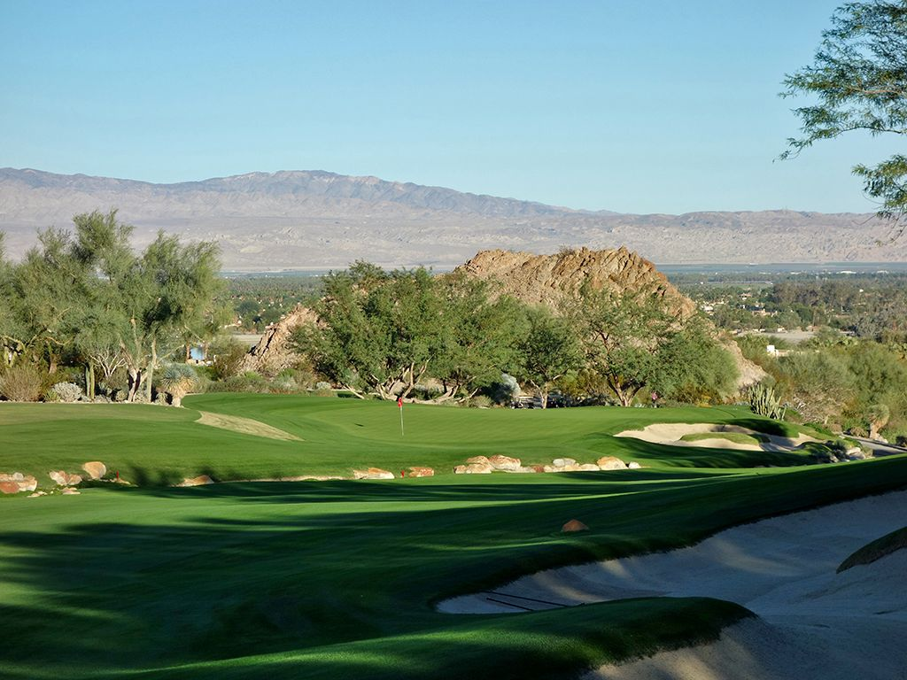 16th Hole at The Quarry at La Quinta (454 Yard Par 4)