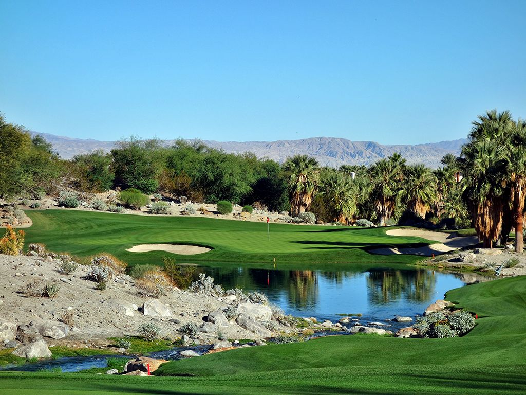 17th Hole at The Quarry at La Quinta (223 Yard Par 3)