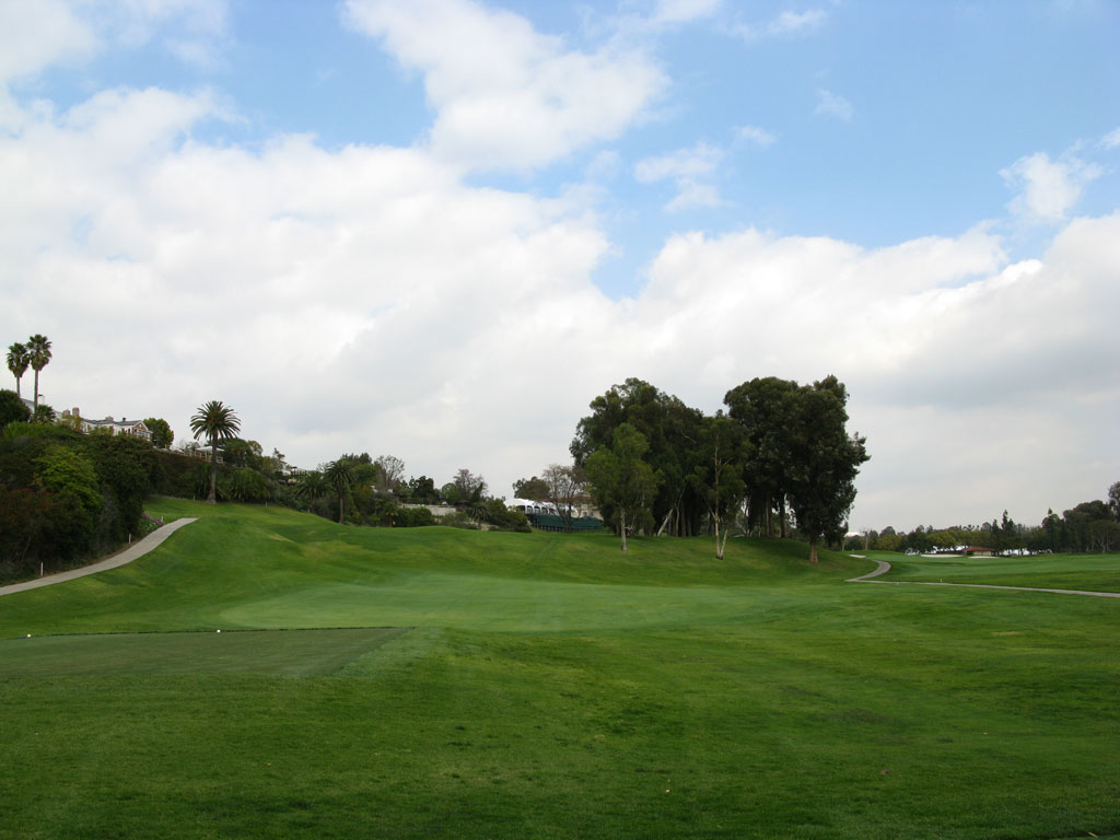 18th Hole at Riviera Country Club (451 Yard Par 4)