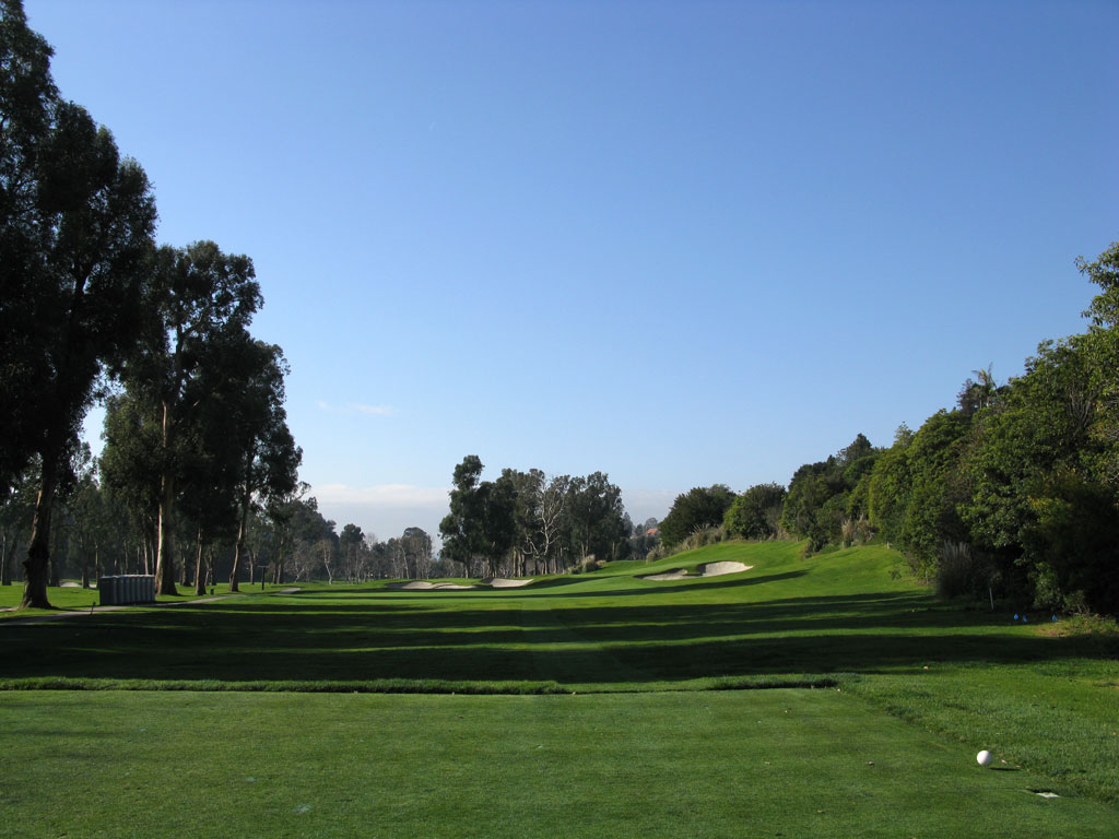 4th Hole at Riviera Country Club (236 Yard Par 3)