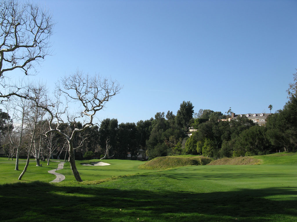 10th and 5th Hole at Riviera Country Club (315 and 434 Yard Par 4)