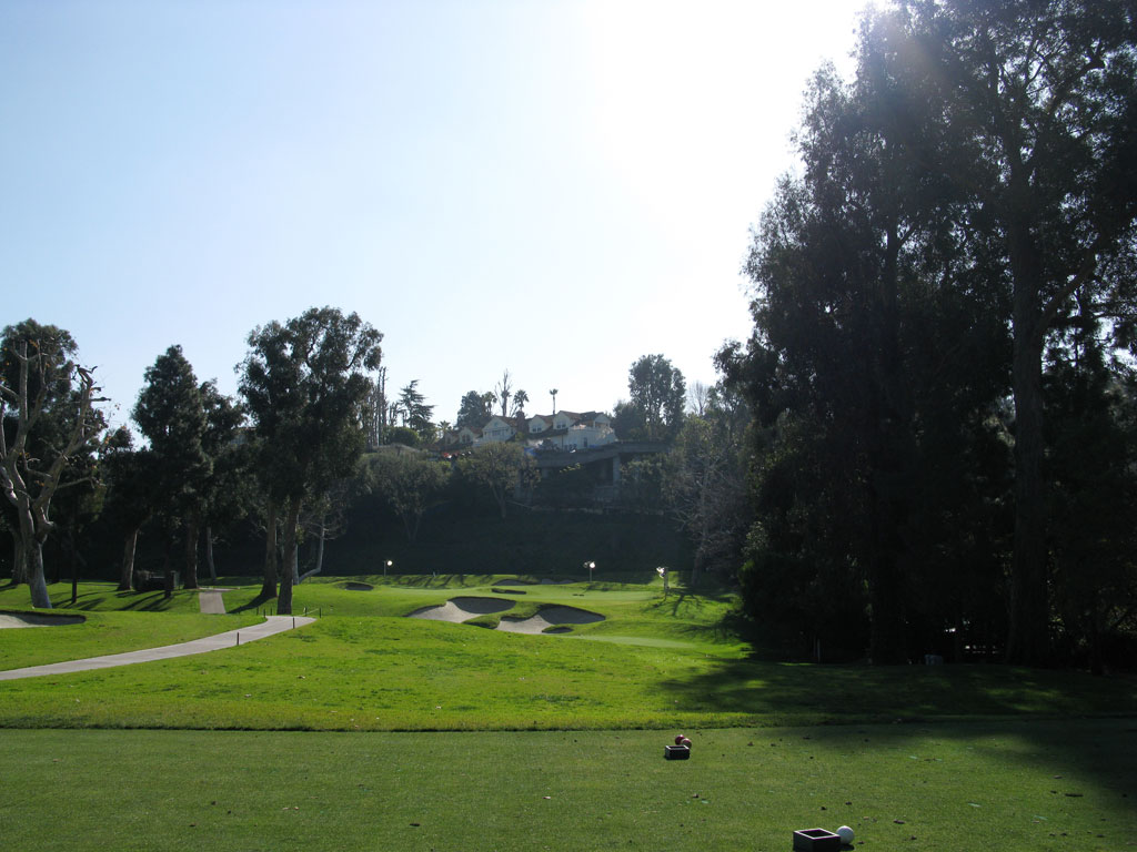 6th Hole at Riviera Country Club (175 Yard Par 3)