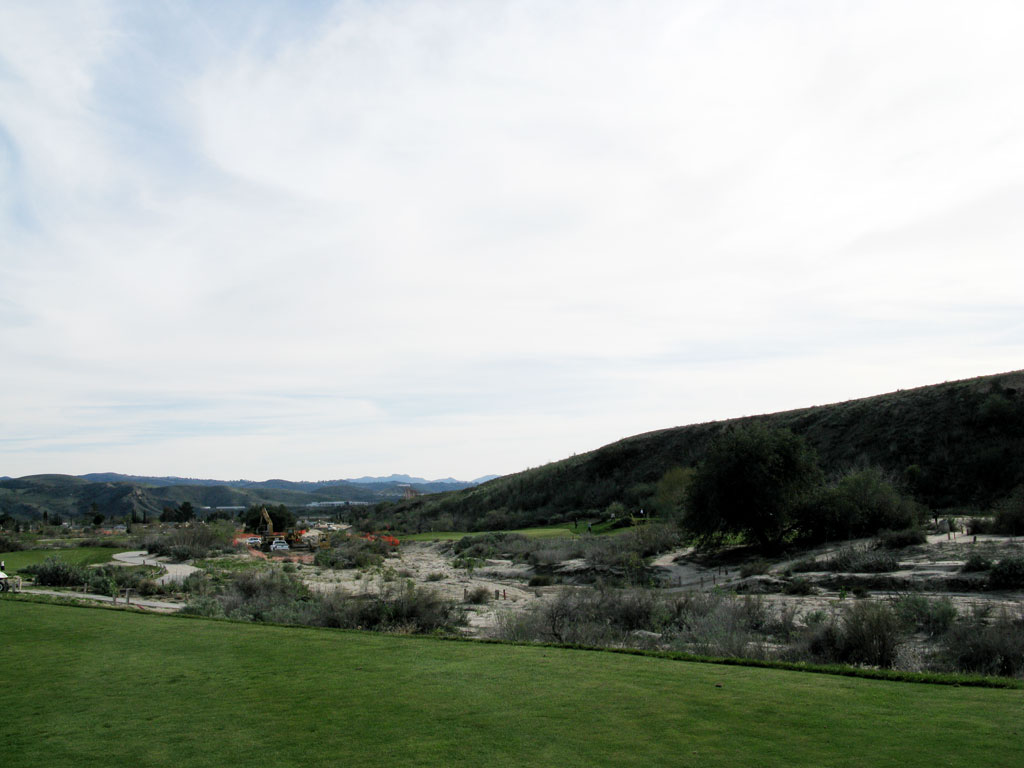 6th Hole at Rustic Canyon Golf Course (216 Yard Par 3)