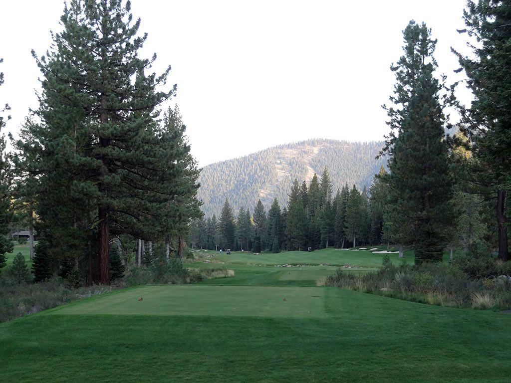18th Hole at Schaffer's Mill Golf Club (605 Yard Par 5)