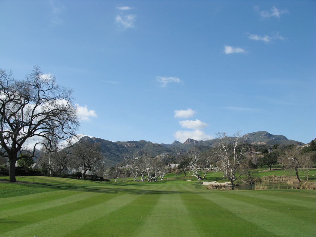13th Hole at Sherwood Country Club (459 Yard Par 4)