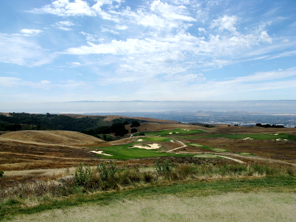10th Hole at TPC San Francisco Bay at Stonebrae (437 Yard Par 4)