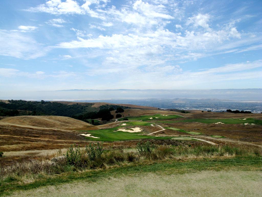 10th Hole at TPC San Francisco Bay at Stonebrae (437 Yard Par 4)