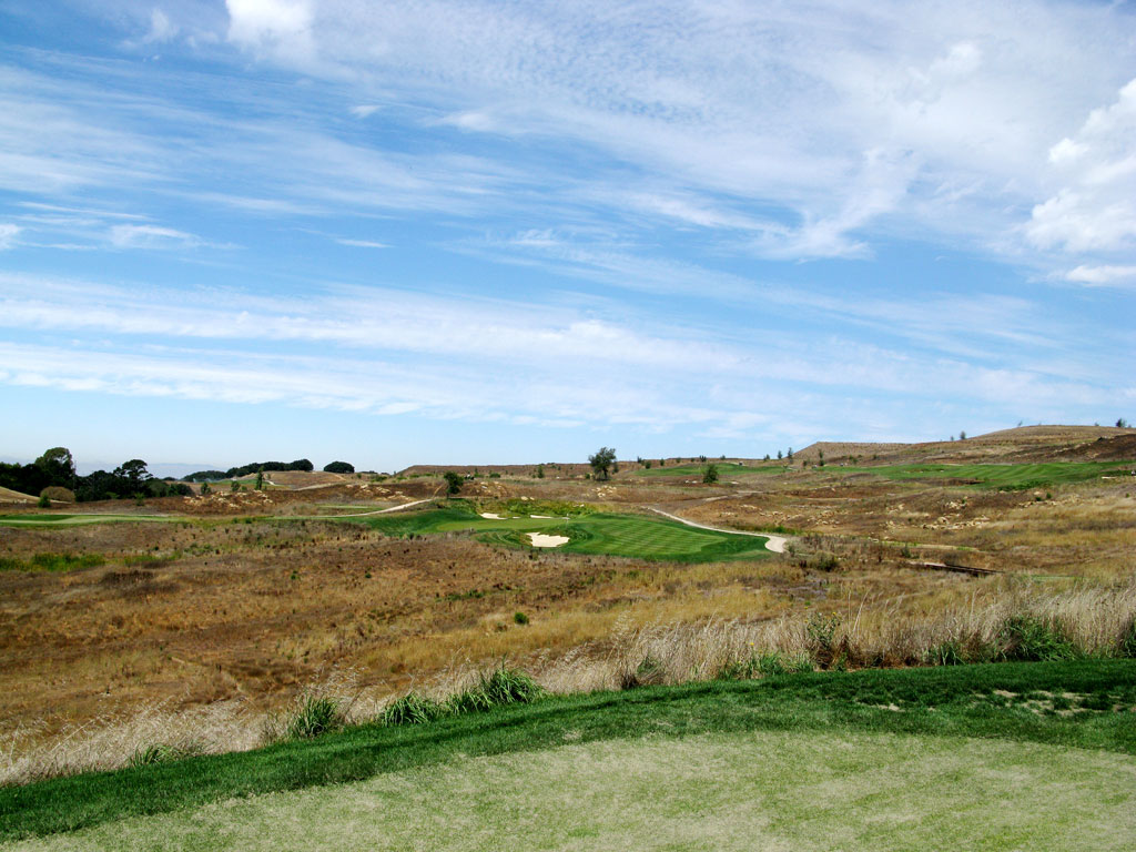 11th Hole at TPC San Francisco Bay at Stonebrae (240 Yard Par 3)