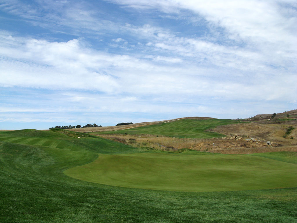 12th Hole at TPC Stonebrae (593 Yard Par 5)