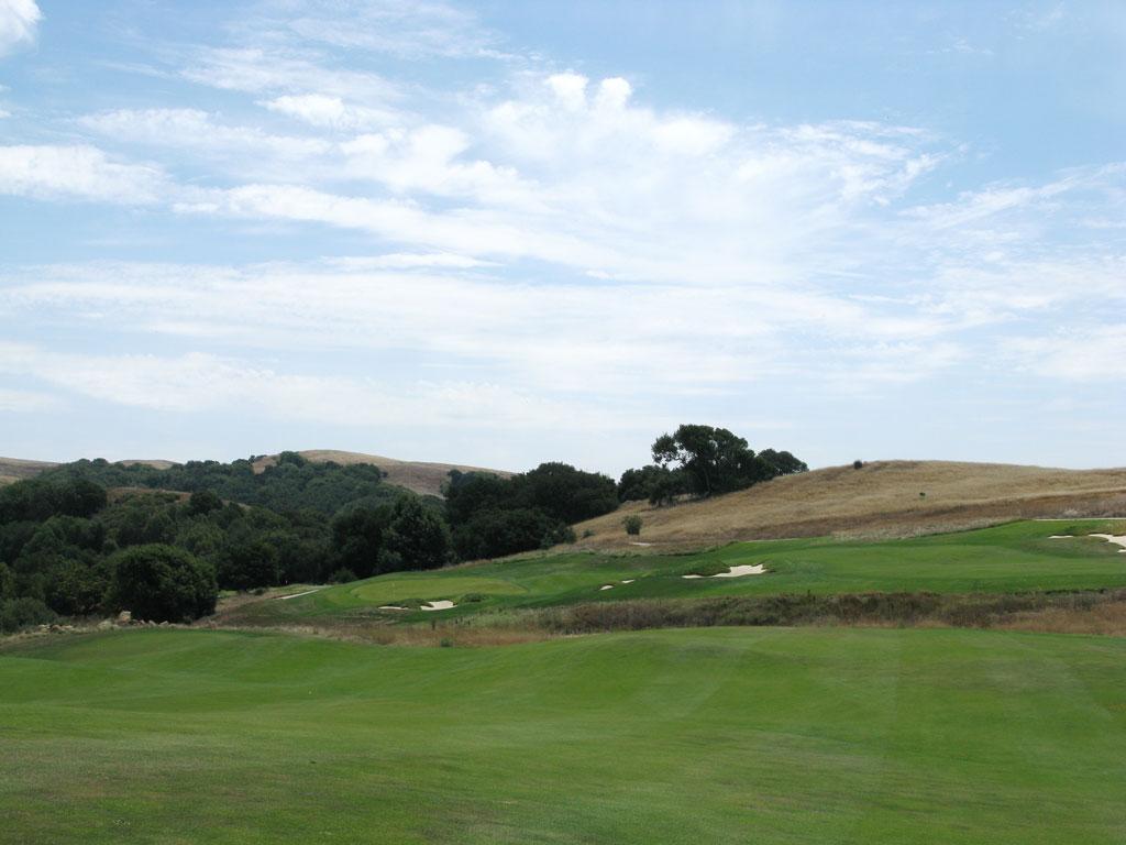 12th Hole at TPC San Francisco Bay at Stonebrae (593 Yard Par 5)