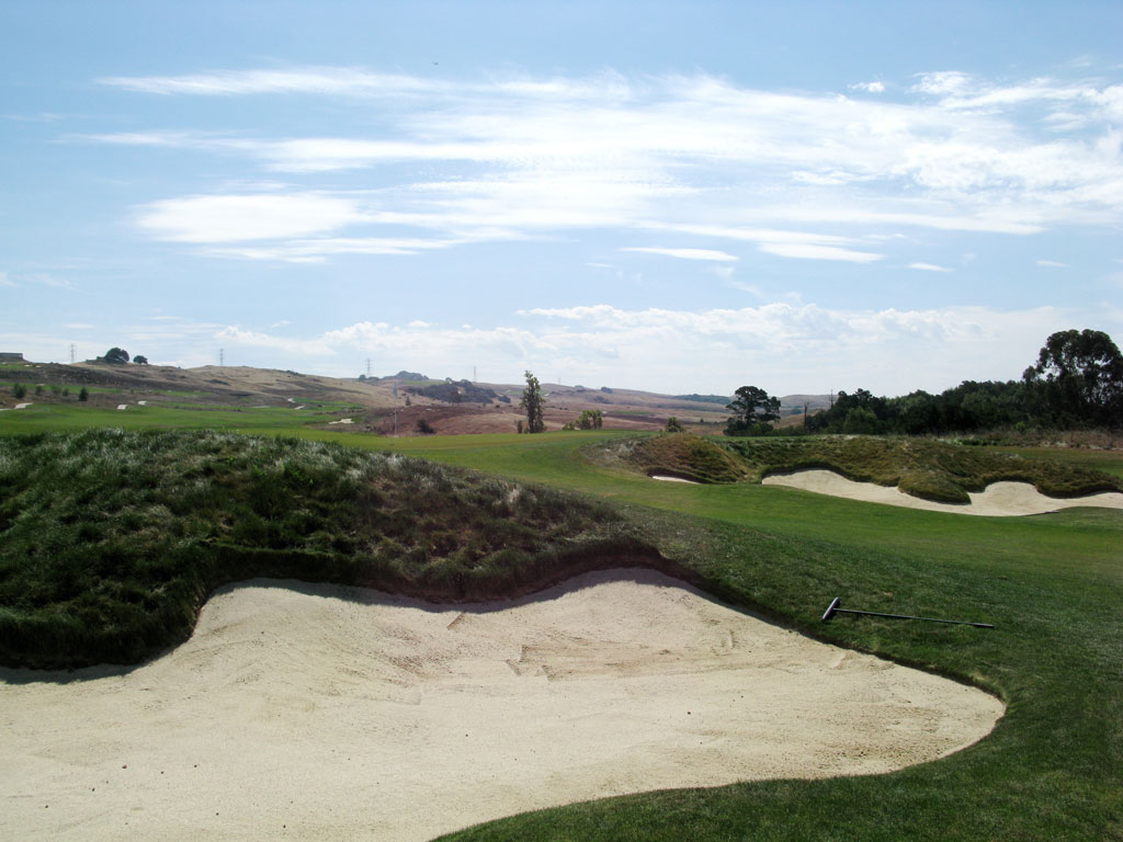 5th Hole at TPC San Francisco Bay at Stonebrae (316 Yard Par 4)