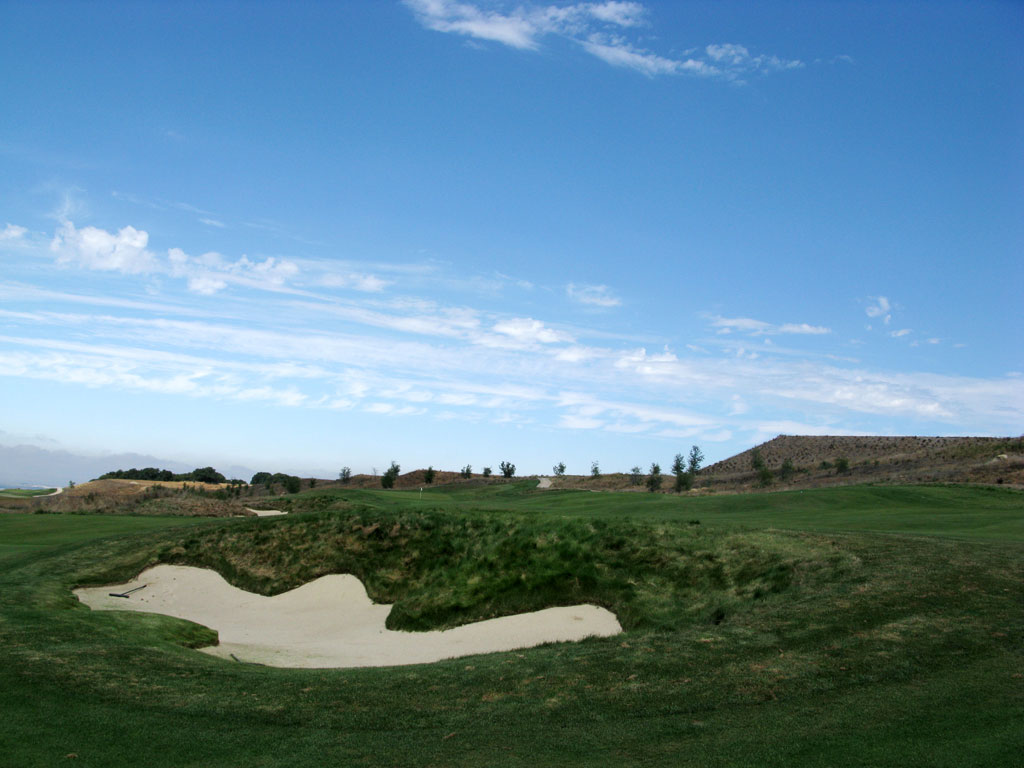 8th Hole at TPC Stonebrae (466 Yard Par 4)
