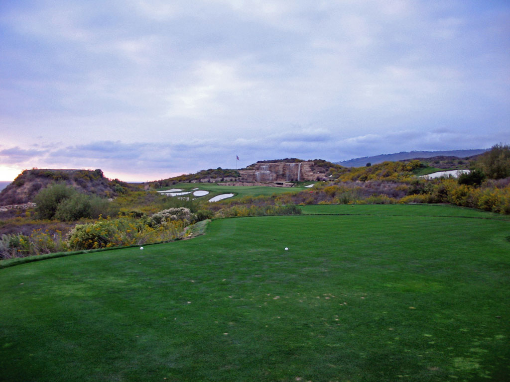 17th Hole at Trump National Golf Club Los Angeles (238 Yard Par 3)