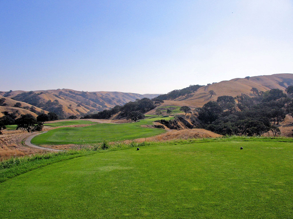 10th Hole at The Course at Wente Vineyards (304 Yard Par )