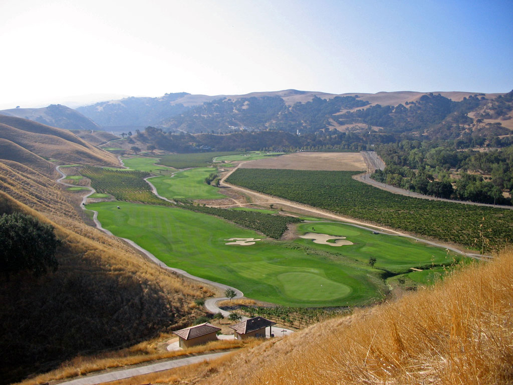9th Hole at Wente Vineyards Golf Course