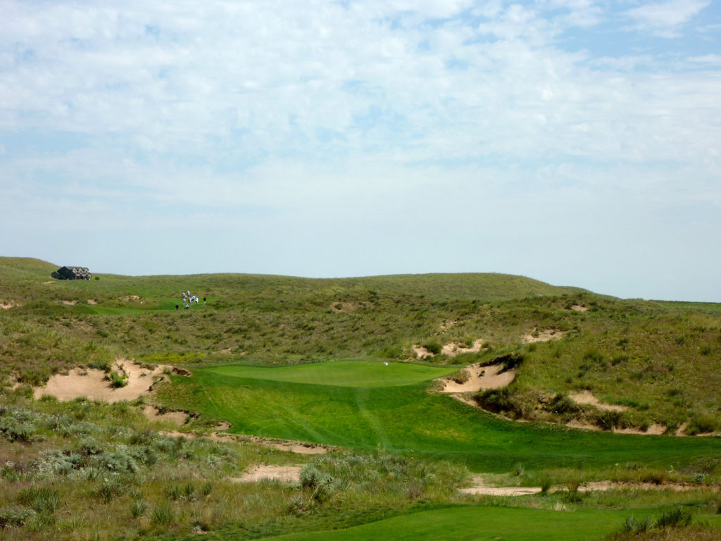 15th Hole at Ballyneal Golf Club (237 Yard Par 3)