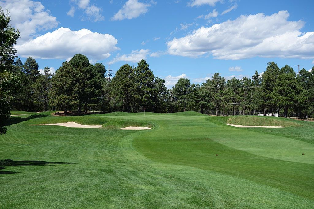15th Hole at Broadmoor Resort (East) (451 Yard Par 4)