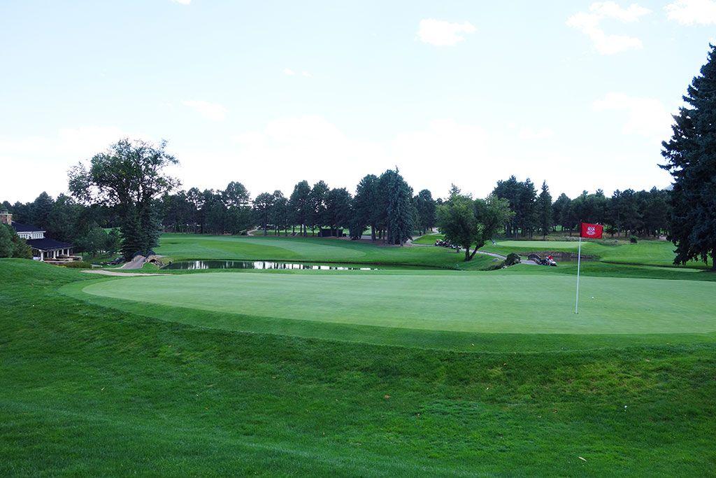 18th Hole at Broadmoor Resort (East) (433 Yard Par 4)