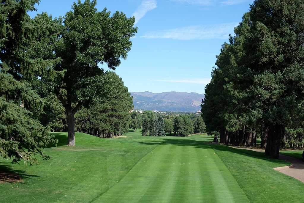 3rd Hole at Broadmoor Resort (East) (601 Yard Par 5)