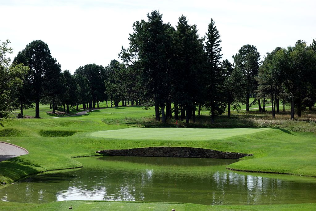 4th Hole at Broadmoor Resort (East) (170 Yard Par 3)