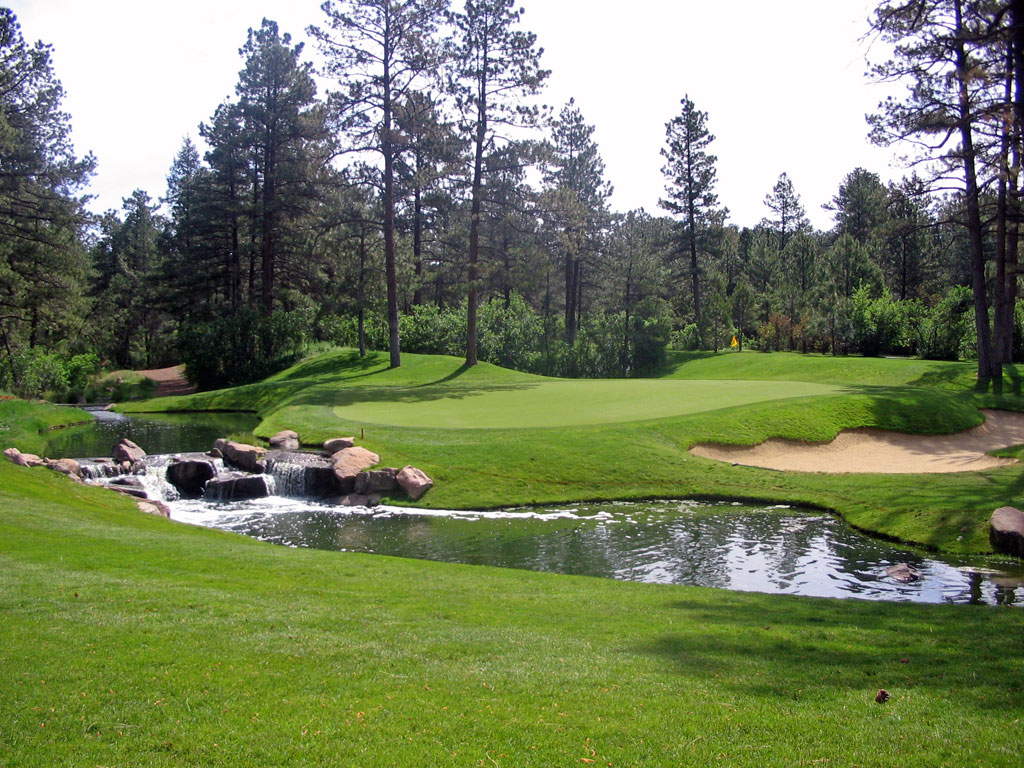 11th Hole at Castle Pines Golf Club