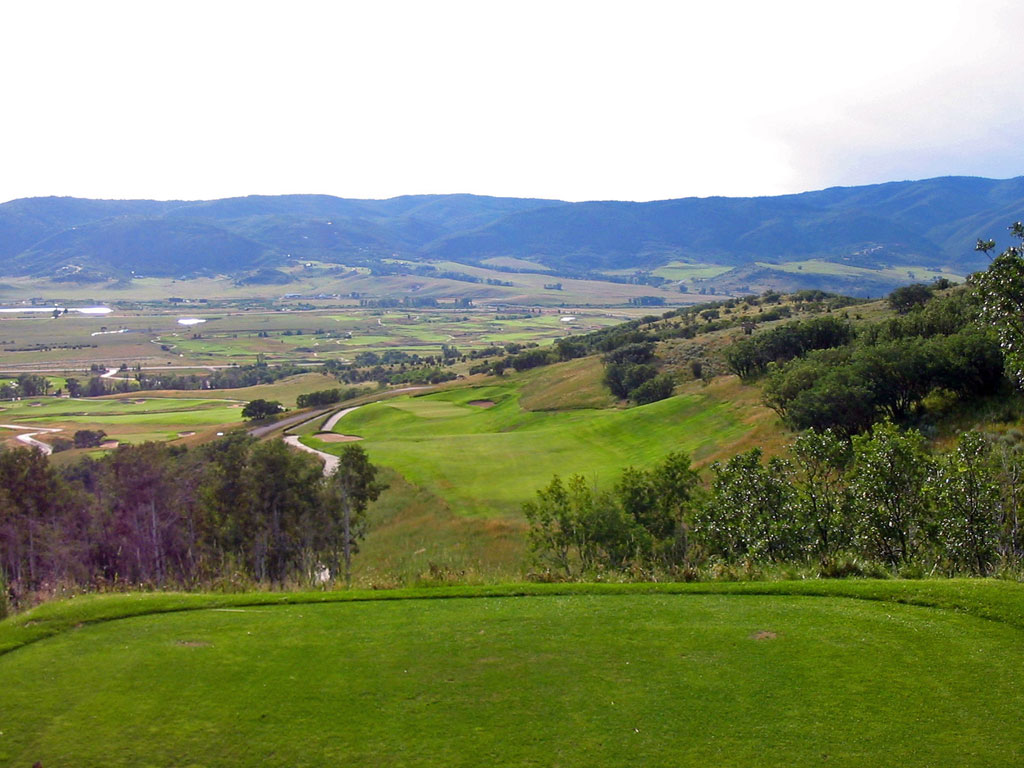 16th Hole at Catamount Ranch and Club (455 Yard Par )