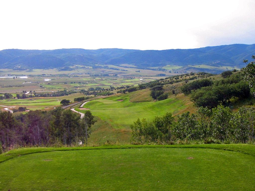 16th Hole at Catamount Ranch and Club (455 Yard Par )