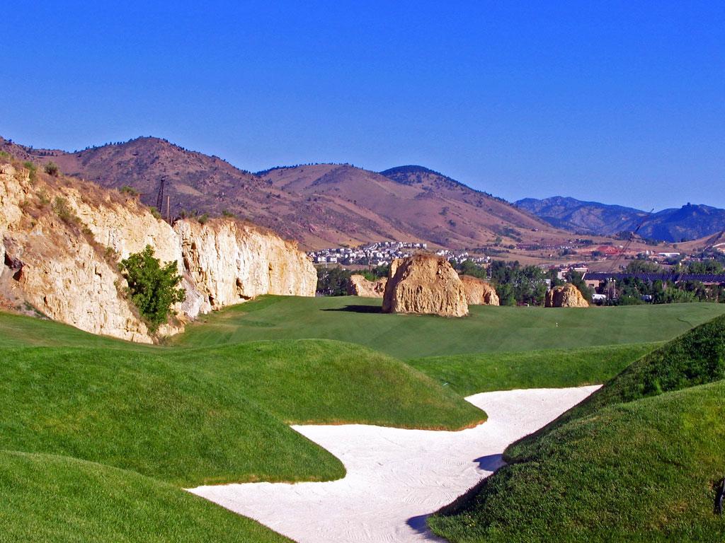 12th Hole at Fossil Trace Golf Club (585 Yard Par 5)