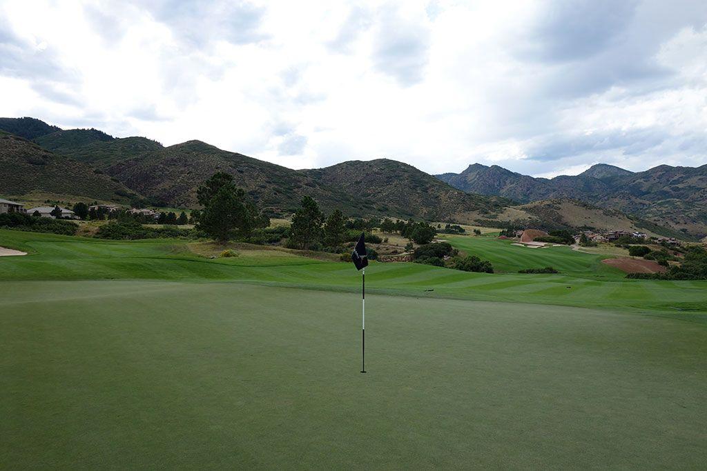 7th Hole at The Club at Ravenna (346 Yard Par 4)